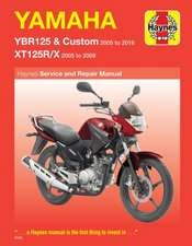 Yamaha YBR125 & XT125R/X (05-16)