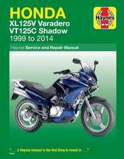 Honda XL125V & VT125C (99 - 14) Haynes Repair Manual