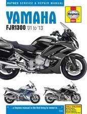 Yamaha FJR1300 (01 - 13) Haynes Repair Manual