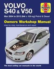 Volvo S40 & V50 Mar 2004-2013