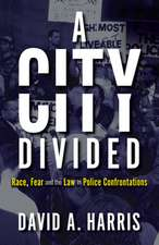 City Divided: Race, Fear and the Law in Police Confrontations