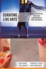 Cultivating Live Arts