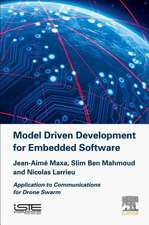 Model Driven Development for Embedded Software: Application to Communications for Drone Swarm