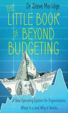 Little Book of Beyond Budgeting