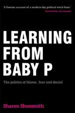Learning from Baby P