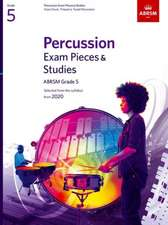 Percussion Exam Pieces & Studies, ABRSM Grade 5: Selected from the syllabus from 2020