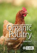 Nutrition and Feeding of Organic P