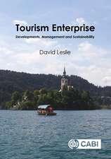 Tourism Enterprise: Developments, Management and Sustainability