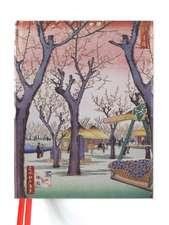 Hiroshige: Plum Garden (Blank Sketch Book)