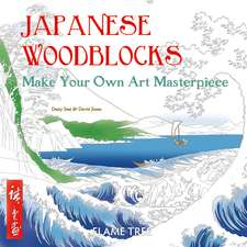Japanese Woodblocks (Art Colouring Book): Make Your Own Art Masterpiece