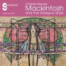 Glasgow Museums - Mackintosh & the Glasgow Style 2019 (Art Calendar)