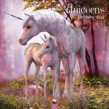 Magical History of Unicorns Wall Calendar 2019 (Art Calendar)