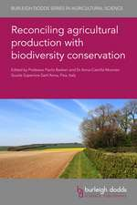 Reconciling Agricultural Production with Biodiversity Conservation
