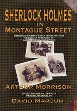 Sherlock Holmes in Montague Street