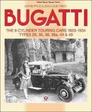 Bugatti - The 8-Cylinder Touring Cars 1920-34