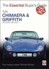 Tvr Chimaera and Griffith: All Models 1994-2001