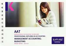 MANAGEMENT ACCOUNTING: BUDGETING - POCKET NOTES