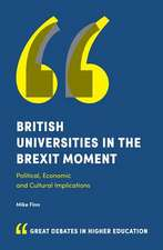 British Universities in the Brexit Moment