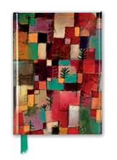 Paul Klee: Redgreen and Violet-Yellow Rhythms (Foiled Journal)