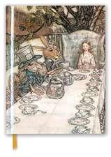 Rackham: Alice In Wonderland Tea Party (Blank Sketch Book)