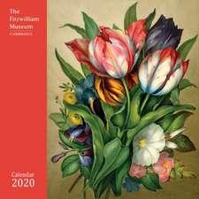 Fitzwilliam Museum – Flower Paintings Wall Calendar 2020 (Art Calendar)