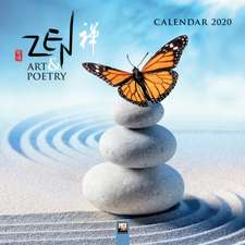 Zen Art & Poetry Wall Calendar 2020 (Art Calendar)
