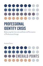Professional Identity Crisis