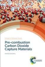 Pre-Combustion Carbon Dioxide Capture Materials
