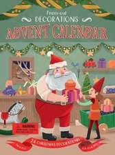 Press-Out Decorations: Advent Calendar
