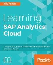 Learning SAP Analytics Cloud