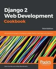 Django 2 Web Development Cookbook-Third Edition