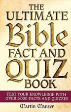 Bible Fact and Quiz Book