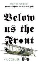 Below us the Front