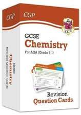 9-1 GCSE Chemistry AQA Revision Question Cards