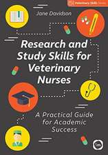 RESEARCH AND STUDY SKILLS FOR VETERINARY