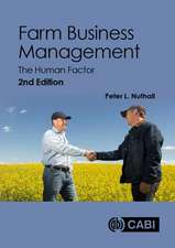 Farm Business Management: The Human Factor