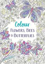 Flowers, Bees and Butterflies