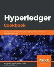 Hyperledger Cookbook