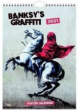 Banksy 2021 - A3 Format Posterkalender