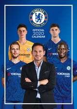 Official Chelsea FC A3 Calendar 2022