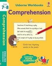 USBORNE WORKBOOKS COMPREHENSION 7 8