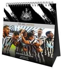 Newcastle United FC 2020 Desk Easel Calendar - Official Desk Easel Format Calendar