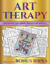 Detailed Coloring Pages for Adults (Art Therapy)