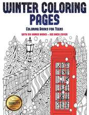 Coloring Books for Teens (Winter Coloring Pages)
