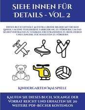 Kindergarten Malspiele (Siehe innen für Details - Vol. 2)