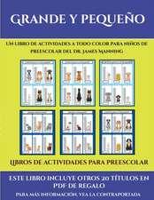 Libros de actividades para preescolar (Grande y pequeño)