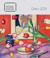 National Galleries Scotland Desk Diary 2021