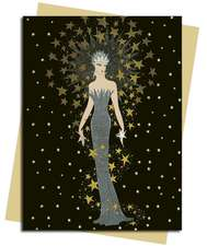 Starstruck (Erté) Greeting Card: Pack of 6