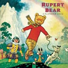 Rupert Bear Wall Calendar 2022 (Art Calendar)