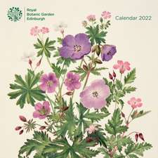 Royal Botanic Gardens, Edinburgh Wall Calendar 2022 (Art Calendar)